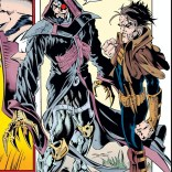 The best-dressed D&D party of the Age of Apocalypse. (X-Man #3)