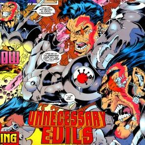 Half cyborg. Half samurai. All toothy. (X-Factor #112)