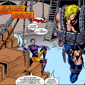 Seriously, what the hell did Fatale build that thing out of? (X-Factor #113)