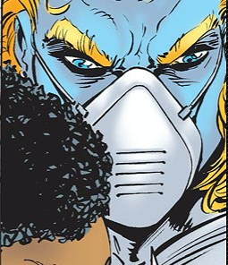 Jeez, Warren, get over it. Everyone has to wear a mask these days. It's not that hard. (Uncanny X-Men #322)