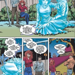 I really like Jean's family. Shame what Claremont did to them in 2006. (Uncanny X-Men #322)