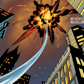 THIS IS NOT A GOOD WAY TO DISPOSE OF A BOMB WHOSE CONTENTS YOU DO NOT KNOW. (Storm #4)