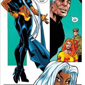 Really? You're going to end your miniseries HERE? (Storm #4)