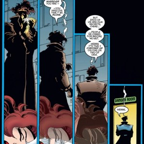 Don't smoke in the Danger Room, Gambit. It's not supposed to be THAT kind of danger! (Wolverine and Gambit: Victims #1)