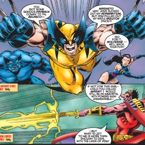 FOOTNOTES FOR THE FOOTNOTE GODS (X-Men Unlimited #9)
