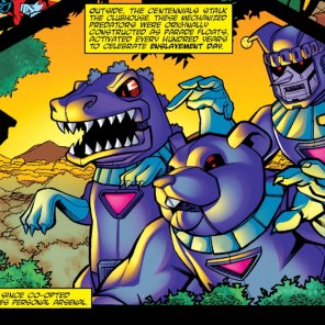 I feel like public opinion of Sentinels would go way up if they looked like dinosaurs. (Pint-Sized X-Babies #1)