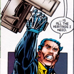 Sir, your gun appears to be several cardboard boxes. (X-Factor #120)