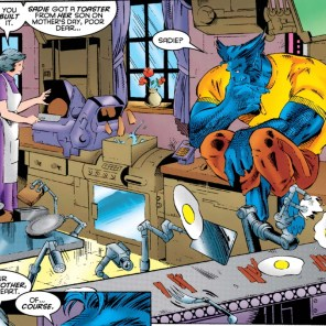 Honestly, I'd prefer a toaster. (X-Men Unlimited #10)