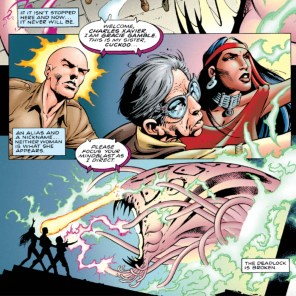 In which Professor Xavier should probably leave caves alone. (X-Men/ClanDestine #1)