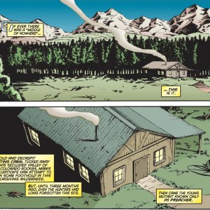 Meanwhile in a Bob Ross painting... (Uncanny X-Men Annual 1996)