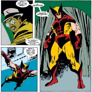 AGAIN: NOBODY IN THIS COMIC CAN FLY. (Wolverine #14)
