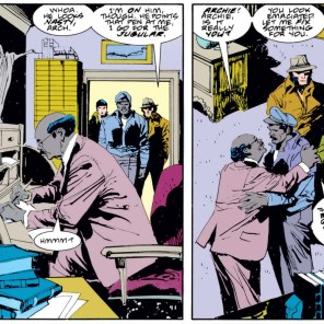 Burt Corrigan, at his driest. (Wolverine #11)