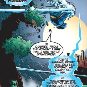 It sucks to be Dark Beast, as it should. (X-Men #54)