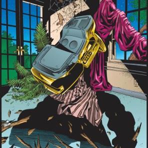 The wreck of Professor Xavier's office... (X-Men #54)