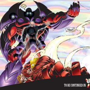 ...and the wreck of Professor Xavier. (X-Men #54)