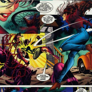 Rogue has no time for your nonsense. (X-Men Unlimited #11)
