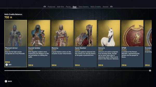 assassins creed origins microtransactions