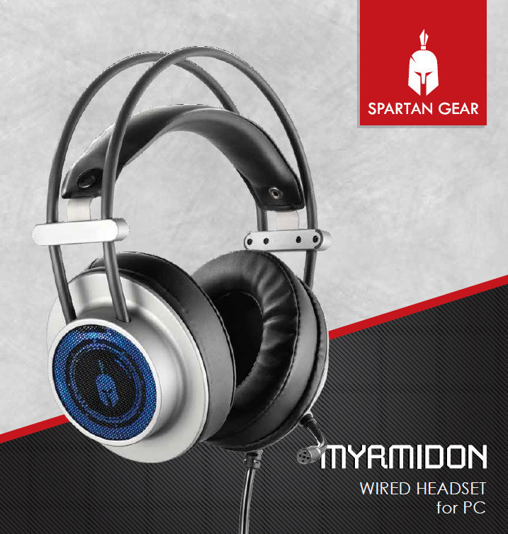 spartan gear myrmidon wired headset for pc review