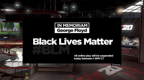black lives matter nba 2k20