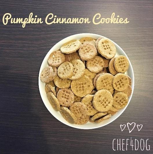 Xplode LIAO_Chef4Dog_Pumpkin Cinnamon Cookies