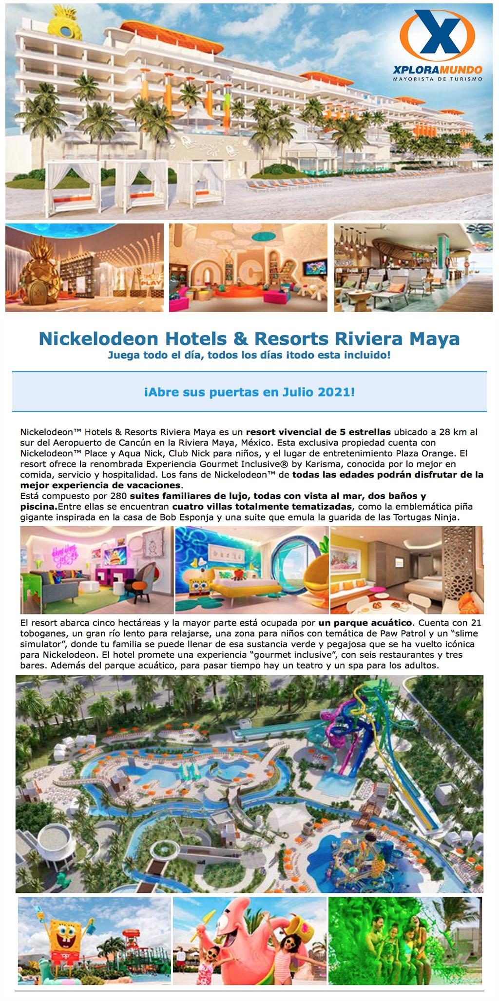 HOTEL NICKELODEON