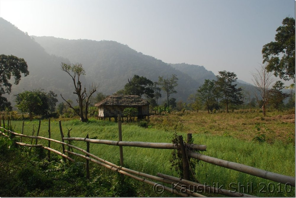 0842_Chakma Village on other side of Noa Dihing