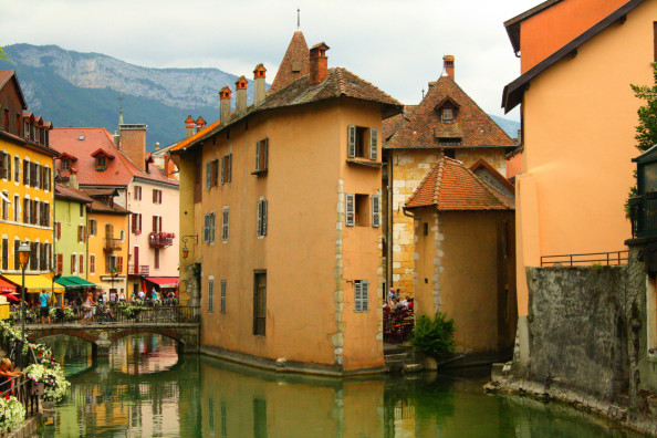 canals in annecy france