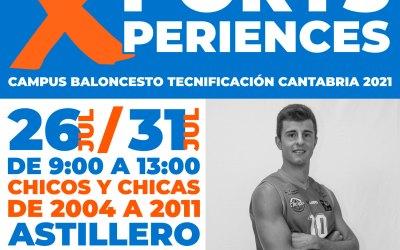 Ven gratis al Campus Baloncesto Tecnificación Cantabria 2021