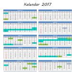 Muat Turun Kalendar 2017 Cuti sekolah (Sabah)