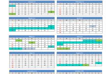 Kalendar 2017 Sabah