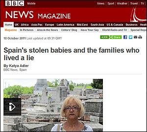 Reportaje en la BBC