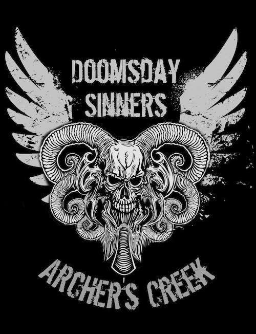 Doomsday Sinners/Archer's Creek graphic