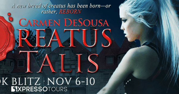 "Creatus Talis blitz banner ""A new breed of creatus has been born--or rather, reborn"""