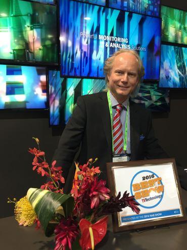 Best of Show Award_TVTech NAB16_Simon