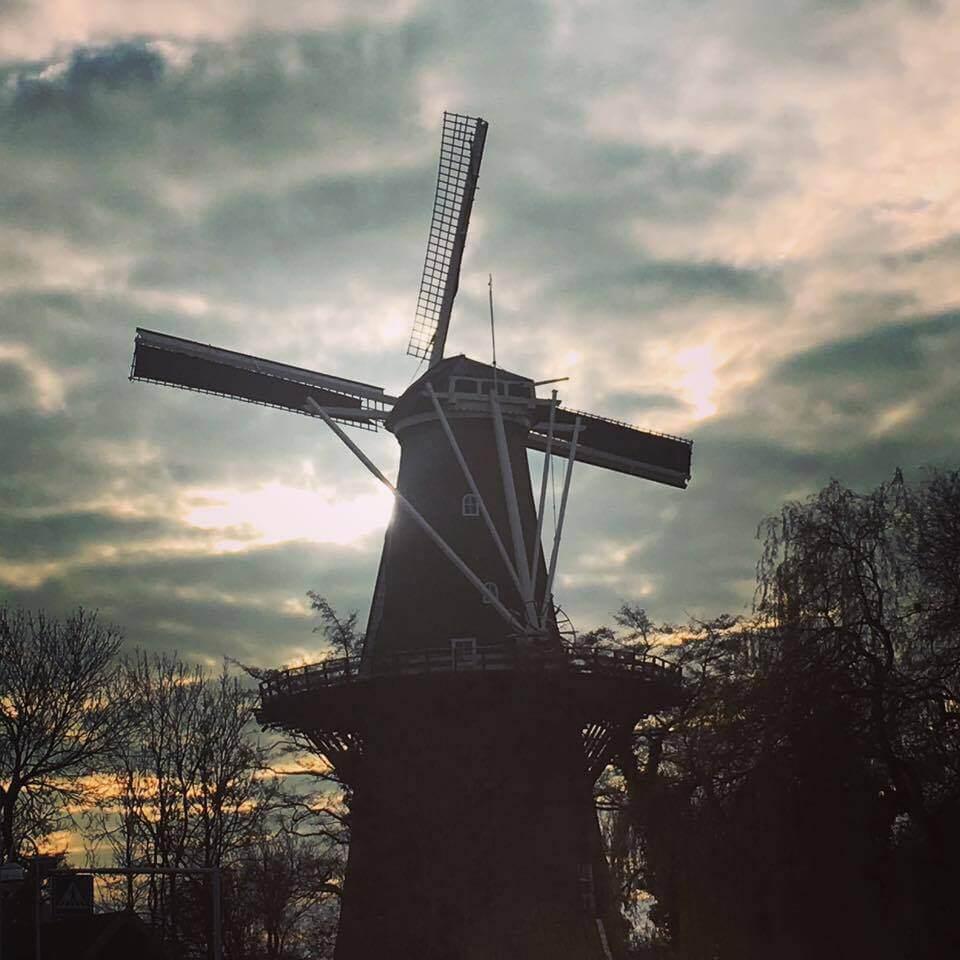 Dutch-windmill