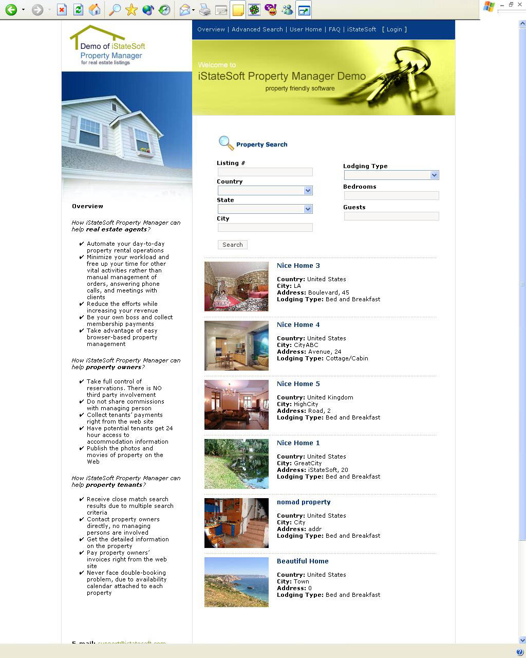 Rental Property Manager Software Business Applications