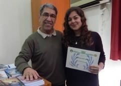 Διάκριση για την μαθήτρια Πολυξένη Κοτζαλάμπου