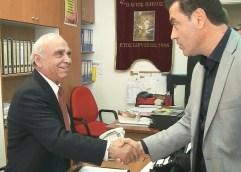 Κοντά στους πολύτεκνους ο Μάκης Παπαδόπουλος