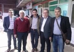 Ο Θ. Μαρκόπουλος στην Ιχθυόσκαλα