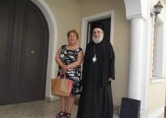 ΔΗΜΗΤΡΑ ΤΣΑΝΑΚΑ: Επίσκεψη στον μητροπολίτη Φιλίππων κ. Προκόπιο
