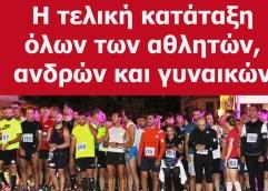 1ος KAVALA NIGHT CITY RUN: Ξεπέρασαν κάθε προσδοκία οι συμμετοχές