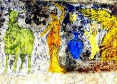 «Επιστύλιο» Αμφίπολης: Αναδύονται μορφές μέσα από την «ομίχλη» των αιώνων