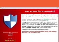 Προσοχή κυκλοφορεί κακόβουλο λογισμικό, τύπου «Crypto-Malware»
