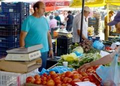 Νωρίτερα θα τελειώσει η λαϊκή αγοράς το Σάββατο 6 Μαΐου 2017
