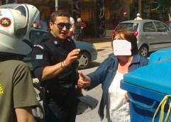 Καβάλα: Και πάρκαρε παράνομα και ζητούσε και τα ρέστα…