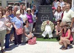 Οι εβραίοι στηρίζουν το μνημείο τους…