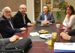 Συνάντηση εργασίας Φίλιππου Αναστασιάδη με τους βουλευτές του ΣΥΡΙΖΑ