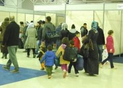 Έφυγαν 450 πρόσφυγες από το εκθεσιακό κέντρο ΑΠΟΣΤΟΛΟΣ ΜΑΡΔΥΡΗΣ