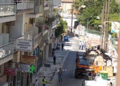 Διακοπή κυκλοφορίας στην οδό Ελευθερίου Βενιζέλου