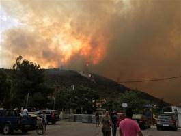 Σταύρος Κιβράκης: Ευάλωτη η Θάσος μετά τις φωτιές του 2016